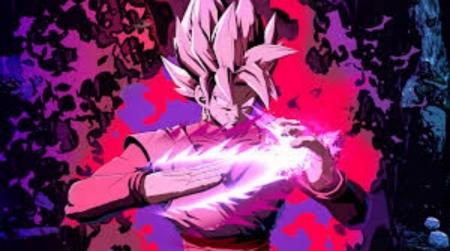 Goku Black Rose Sword Dragonball Anime Background