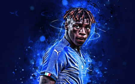 Moise Kean Soccer Sports Background Wallpapers On Desktop Nexus Image 2476213