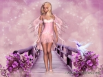 Lovely Pink Fairy