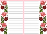 Printable stationery 5