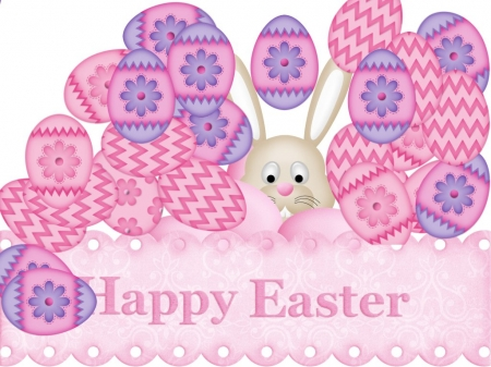 Happy easter Comic - purple, pink, text, holiday, design, easter