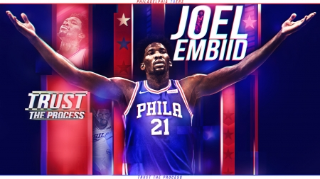 Joel Embiid Basketball Sports Background Wallpapers On