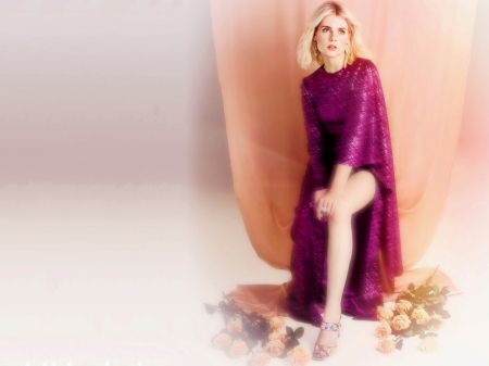 Lucy Boynton - beautiful, Lucy, dress, model, Boynton, legs, 2019, actress, Lucy Boynton, wallpaper, hot, foot