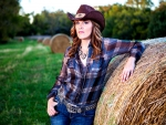 The Hay Field Cowgirl. .