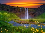 Tha beautiful nature of Iceland
