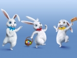 animated easter bunnies