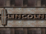 Modern old steel Lincoln Logo