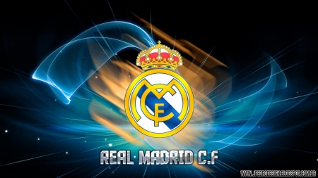 Real Madrid C.F. - soccer, hala madrid, real madrid, realmadrid, logo
