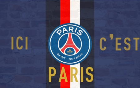 Paris Saint-Germain F.C. - emblem, paris, football, soccer, french, paris saint-germain fc, paris saint germain, paris saint-germain, club, sport, logo, france, psg