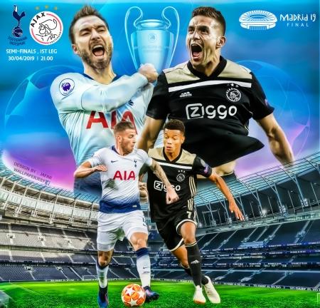 Tottenham Vs Ajax Soccer Sports Background Wallpapers On Desktop Nexus Image 2479796