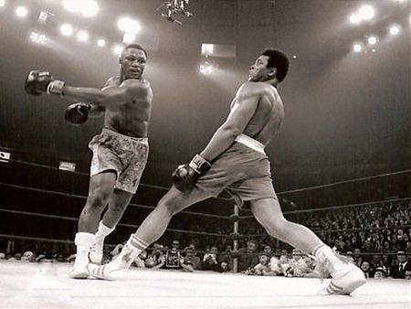 Muhammad Ali vs. Joe Frazier - ali, joe frazier, boxing, muhammad ali