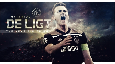 Matthijs de Ligt - de ligt, defender, dutch, football, leader, afc ajax, captain, soccer, sport, matthijs de ligt