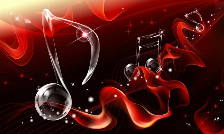 Musical note 3d and cg abstract background wallpapers on desktop nexus image 2480651 - Music note wallpaper for walls ...