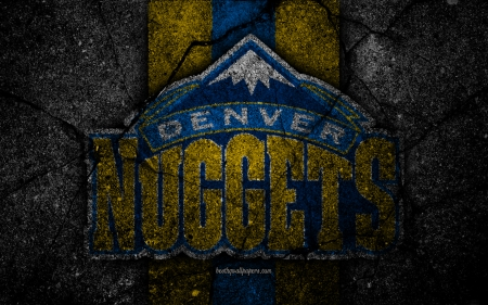 Denver Nuggets - emblem, nba, denver nuggets, basketball, nuggets