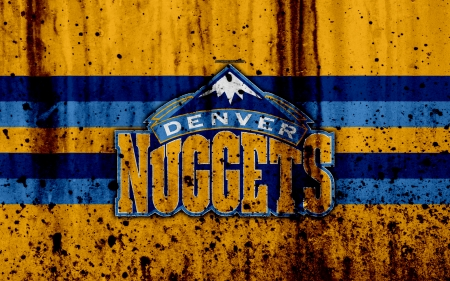 Denver Nuggets - nuggets, nba, basketball, denver nuggets, emblem