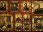 Celebrities Wearing the Uniform of Russian Generals from 1812