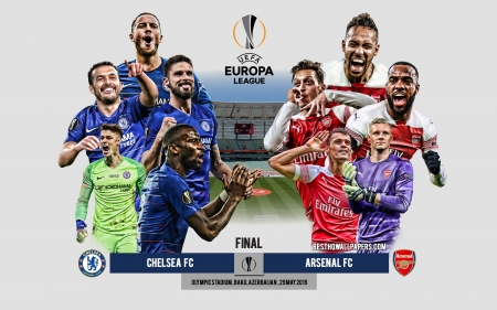 2019 UEFA Europa League Final - football, chelsea vs arsenal, baku 2019, mesut ozil, soccer, arsenal, eden hazard, final, uel, sport, chelsea, london