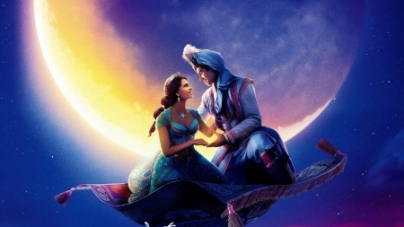 Aladdin 2019 Movies Entertainment Background