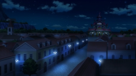 Magnolia - Anime, Fairy Tail, Kingdom, Magnolia, Guild, Manga, Fiore, Town, Mage, Night