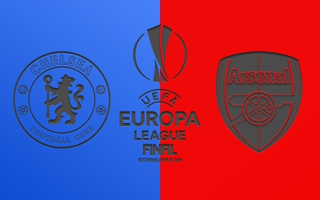 2019 UEFA Europa League Final - football, soccer, cheslea vs arsenal, london, baku 2019