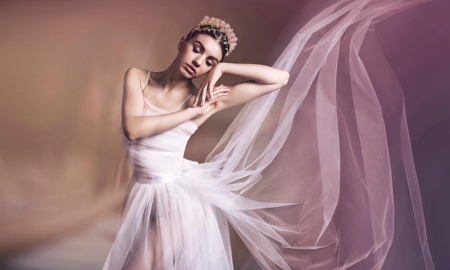 Ethereal Ballet Dancer - ethereal, feminine, besuty, lady, pink, softness, lovely, Ballet, Dreamy, gentleness, gentle