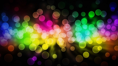 Bokeh Circles - bokeh, spots, abstract, hd, circles, coloful