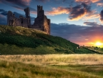 ABANDONED CASTLE at EVENING