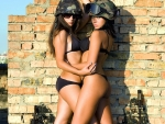 Military Bikini Models?