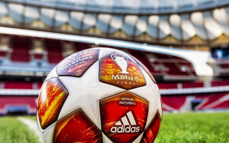 Adidas UCL Finale Madrid 2019 - soccer, ball, madrid 2019, adidas, champions league