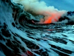 Emtremely Danderious Lava Surf Photography