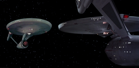 Reflection From The Past - Enterprise, Star Trek, Constitution Class, spaceship