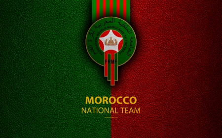 Morocco National Football Team - sport, logo, african, fifa, football, africa, soccer, emblem, morocco, team
