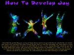 How To Develop Joy