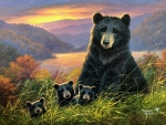 Bears ~ Sunset