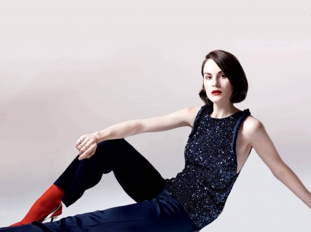 Michelle Dockery - model, tights, closeup, beautiful, pants, singer, Dockery, Michelle Dockery, 2019, actress, Michelle, wallpaper, hot, top