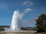 Old Faithful Geyser, Yellowstone Nat'l. Park