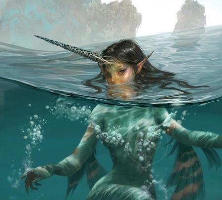Mermaid Unicorn Fantasy Abstract Background Wallpapers On Desktop Nexus Image 2489781