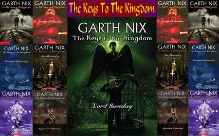 Garth Nix Keys To The Kingdom Book