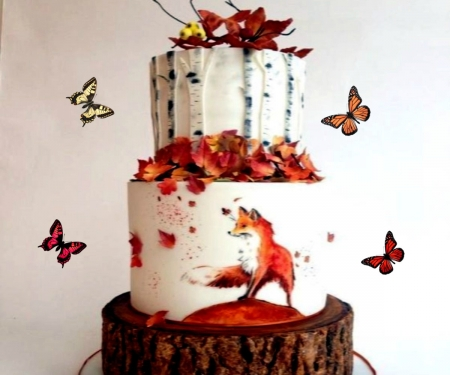 Red Fox Cake Photography Abstract Background Wallpapers On Desktop Nexus Image 2490360