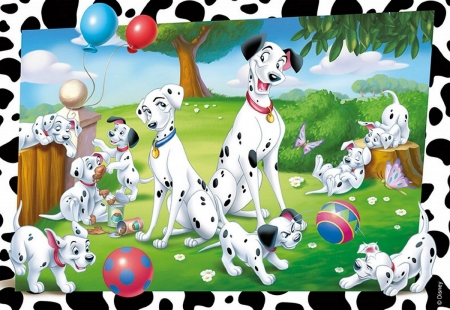 One Hundred And One Dalmatians 1961 Movies Entertainment Background Wallpapers On Desktop Nexus Image 2490497