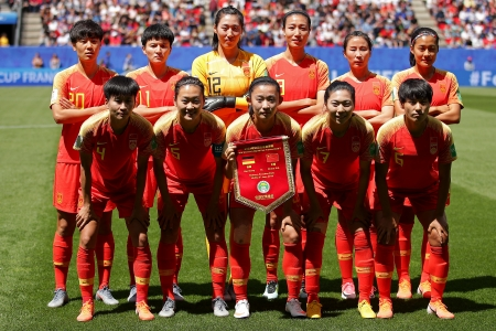 China Women's National Football Team - football, national, women, china, team