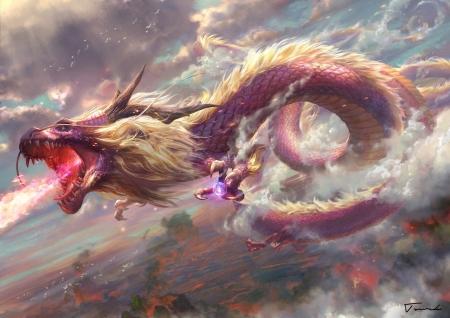 Chinese dragon - Fantasy & Abstract