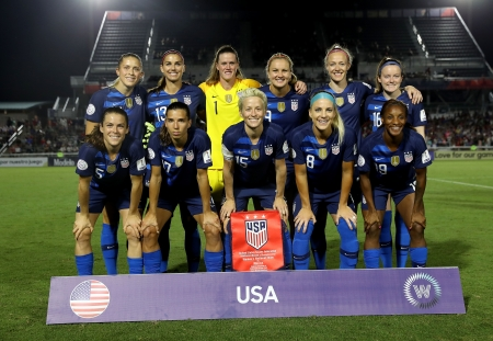 U.S. Women's National Soccer Team - usa, football, national, alex morgan, uswnt, women, team, sqaud, united states, sport