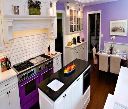 Pretty Purple Kitchen Appliances Colors - Photography ...