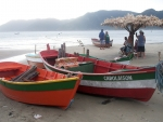 Boats on Beach in Brazil