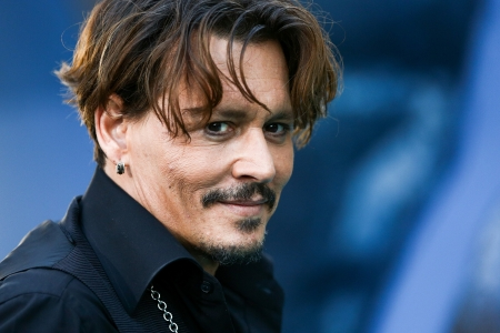 Johnny Depp - man, smile, face, Johnny Depp, actor