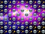 Alien Emoji Wallpaper