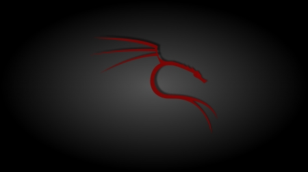 Black And Red Kali Linux Linux Technology Background
