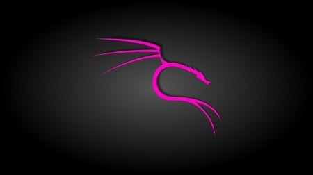 Black And Pink Kali Linux Linux Technology Background
