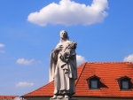 Statue of Saint in Prague